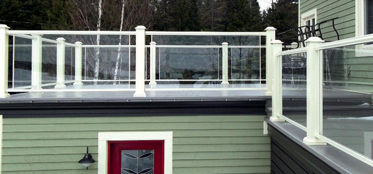 multi segments balcons et marches en fibre de verre. Black Bedroom Furniture Sets. Home Design Ideas